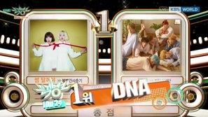 Music Bank tuần này: BTS giành chiến thắng thứ 9, NU'EST và GOT7 đồng loạt lên sàn