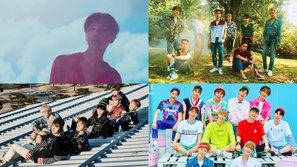 Bảng xếp hạng 13 ca khúc phát hành năm 2017 của các idol nam được nghe nhiều nhất trên Melon trong 24 giờ đầu tiên