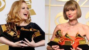 Adele, Taylor Swift dẫn đầu danh sách album bán chạy nhất thập niên 2010