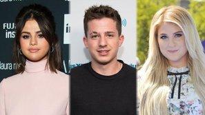 Charlie Puth chấp nhận ăn côn trùng thay vì phải lựa chọn giữa Selena Gomez và Meghan Trainor