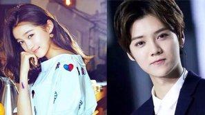 Mặc gạch đá dư luận, Quan Hiểu Đồng vẫn mặc áo Luhan để quay video tuyên truyền phim