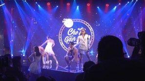 Debut ca khúc trên sân khấu showcase, fan ngỡ ngàng khi Chi Pu lộ giọng yếu phải lipsync