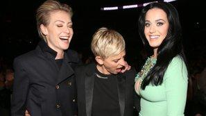 Ellen DeGeneres bị fan ném đá vì lấy 'ngực khủng' của Katy Perry ra làm trò đùa