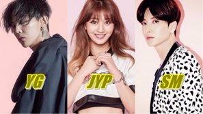 'Giá trị' của JYP Entertainment tăng gấp đôi vào năm 2017, nhanh chóng bắt kịp YG trong Big 3