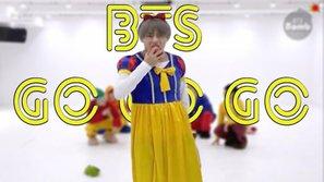 Góc giả gái: V (BTS) hóa nàng Bạch Tuyết 'quẩy' Halloween tặng fan hâm mộ