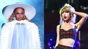 Forbes bình chọn Beyoncé và Taylor Swift là 2 trong số 15 phụ nữ quyền lực nhất làng giải trí