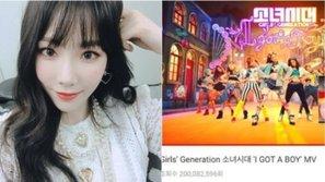 Đăng ảnh chúc mừng SNSD có MV 200 triệu view đầu đời, 'chị đại' Taeyeon không quên dằn mặt SM khiến fan hả dạ