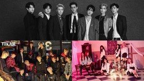 Super Junior, SEVENTEEN và SONAMOO đồng loạt tung sản phẩm trở lại khuấy động đường đua Kpop tháng 11