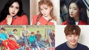 Hàng loạt cựu thành viên I.O.I chiến thắng các hạng mục Korea First Brand Awards 2018