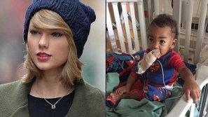 SỐC: Bé trai 3 tuổi bị ung thư được Taylor Swift dành tặng 50.000 USD đã qua đời