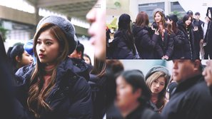 Xuất hiện cùng TWICE tại sân bay, Sana khiến người hâm mộ 'ngạt thở' vì quá nổi bật