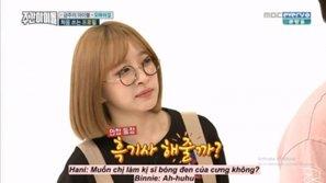 Hani - cô nàng idol hay thả thính loạt sao nữ Kpop