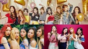 Bảng xếp hạng giá trị thương hiệu girlgroup tháng 11: Sự thống trị tuyệt đối của BIG3
