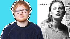Nghi vấn Taylor Swift viết ca khúc 'Dress' về ham muốn tình dục với Ed Sheeran