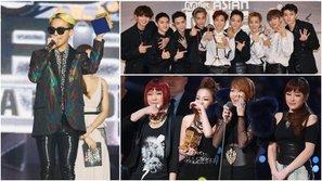 Nghệ sĩ Kpop nào từng cùng lúc nhận được nhiều giải thưởng nhất trong lịch sử MAMA