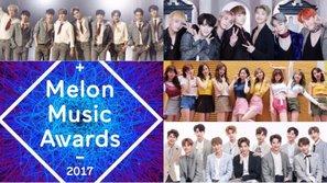 HOT: Từ 40 ứng cử viên, Melon Music Awards 2017 đã tìm ra top 10 nghệ sĩ thắng giải Bonsang