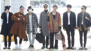 BTS đua nhau diện trang phục sân bay thời thượng trong chuyến đi đến Mỹ
