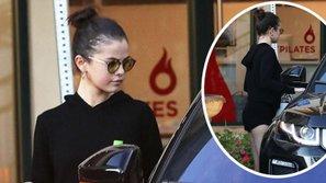 Selena Gomez khoe dáng chuẩn thon gọn, đập tan tin đồn mang thai với Justin Bieber