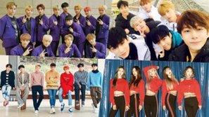 SEVENTEEN, MONSTA X, Super Junior và EXID đồng loạt chiếm lĩnh BXH Billboard tuần này