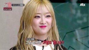 Trainee 'mách mẹ' Han Hyeri bất ngờ phát biểu về sự cố ứng xử trên 'MIXNINE'