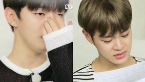 Xúc động trước khoảnh khắc Wanna One bật khóc khi nhận quà từ gia đình