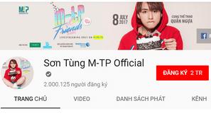 Đây là nghệ sĩ Việt được theo dõi nhiều nhất trên Youtube                                                                   0