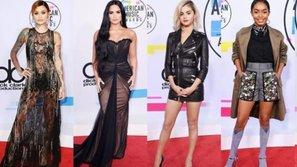 Thảm đỏ AMAs 2017: Selena Gomez khoe tóc mới 'chất lừ', đọ sắc cùng dàn sao nổi tiếng