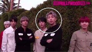 RM (BTS) khó chịu và dữ tợn ra mặt khi bị paparazzi quấy rầy sự riêng tư