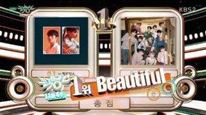 Trên đường sang Việt Nam, Wanna One vẫn kịp mang về chiếc cúp thứ 3 tại Music Bank