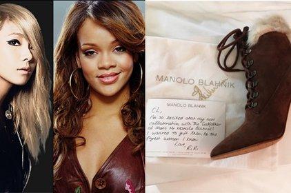 """CL """"sướng rơn"""" với món quà xa xỉ từ Rihanna"""