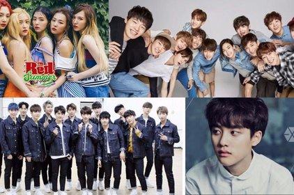 Phẫn nộ trước tân binh bắt chước vũ đạo của SEVENTEEN, lời chào của Red Velvet và chê bai diễn xuất của D.O. (EXO)