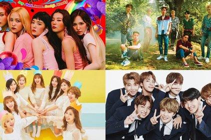 BXH giá trị thương hiệu idolgroup tháng 7:  BTS tụt hạng, Red Velvet vượt mặt cả EXO lẫn TWICE