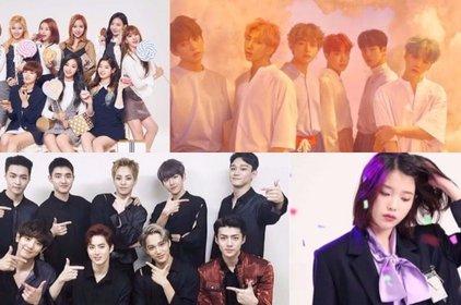Melon Music Awards 2017 công bố dàn khách mời gồm những ngôi sao 'hot' nhất