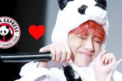 Đây là phản ứng của thương hiệu Panda Express khi V (BTS) nhiều lần tiết lộ tình yêu to lớn với họ