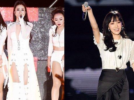 Đông Nhi tỏa sáng trên sân khấu Asia Song Festival 2017