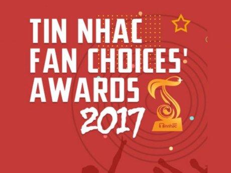 Các fandom tranh tài nảy lửa tại Tinnhac Fan Choices' Awards 2017