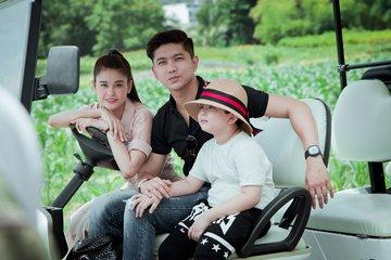 gia đình hạnh phúc của tim và trương quỳnh an