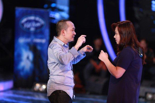 nhạc sĩ quốc trung tại Vietnam Idol 2015