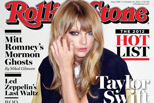 taylor rolling stone