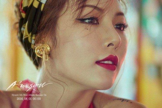 HyunA A'wesome