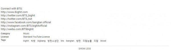 """BTS dùng hashtag """"Big Bang"""" để tăng lượt xem cho MV mới?"""