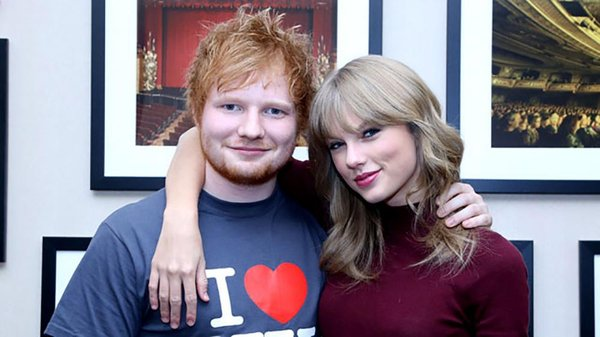 ed sheeran và taylor swift