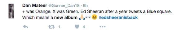 ed sheeran album mới