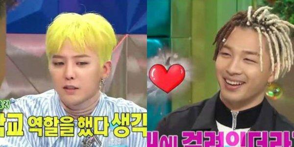 G-Dragon Taeyang Min Hyo Rin