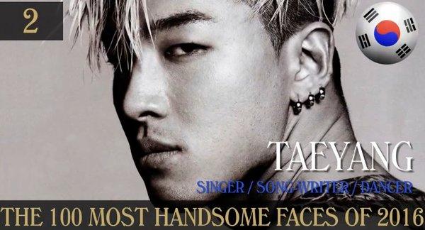 Netizen mỉa mai khi Taeyang (Big Bang) đứng hạng 2 trong Top 100 gương.  Taeyang đứng hạng 2 trong Top 100 gương mặt đẹp trai nhất thế giới ...