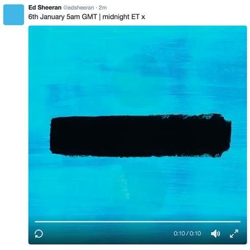 ed sheeran album mới 2017