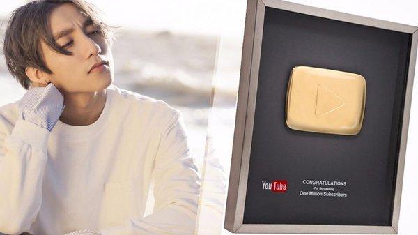 sơn tùng nút vàng youtube