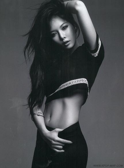 idol nữ Kpop sở hữu cơ bụng hoàn hảo