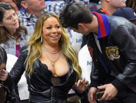 Tu diva hoa tham hoa : Mariah Carey dang bien minh thanh tro cuoi cho lang giai tri - Anh 2