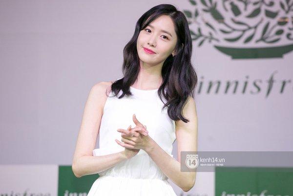 Cập nhật: Yoona đẹp tinh khôi, rạng rỡ tại họp báo giao lưu Việt Nam - Ảnh 11.